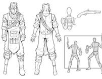 Strangelight RPG - Concepts (Privateer Press)