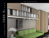 Privat client_Interior living proposal