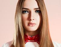 Fashion design student project shoot - Georgina Lau