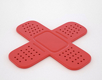 Ouch! rubber coasters and trivets
