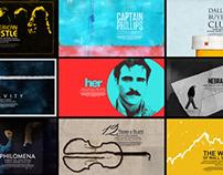 Oscars 2014 - Title Cards
