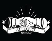 Alliance Tattoo Shop | Branding