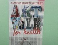 Georgia Regents University Art Walk for Health Brochure