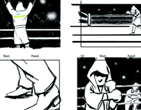 Commercial Storyboards 2011-2013