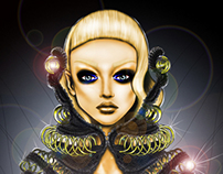 Fashion Illustration for Reka Gottlieb