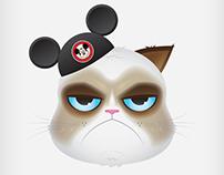 Grumpy Cat Disney Poster
