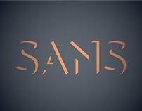 Shadow Sans Custom Typography