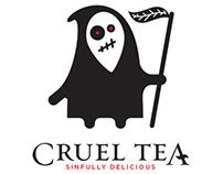 Cruel Tea Branding and Packaging