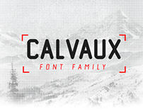Calvaux Font // FREE WEIGHT