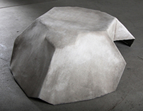 PLANE DRAPED TABLE