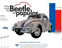 Volkswagen Beetle Infographic