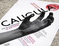Caligula, Affiche de théâtre