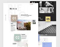 Bieblova residency / concept