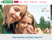 WWF Camps for kids - Catalogue + booking engine