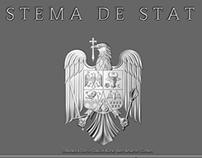 COAT OF ROMANIA 3D WALLPAPER
