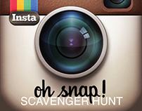 Oh Snap! Scavenger Hunt