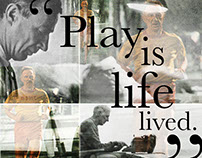 George Sheehan: Play Is Life Lived.