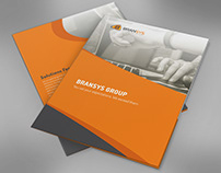 Stationery Graphic Design Work at Bransys