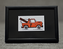 Letterpress truck