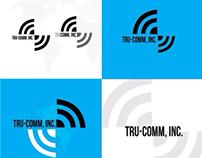 TruComm Inc. Logo Comps