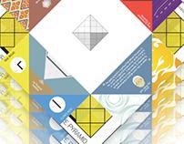 Louvre Museum Origami Brochure