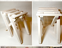 Dual Position Work Stool
