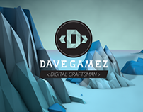 New Splash Page for http://davegamez.com