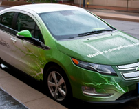 Westar Energy ElectricGo electric vehicle wraps.