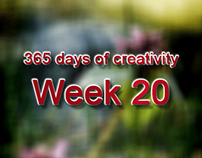 365 days of creativity/art - Week 20