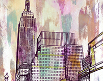NYC Monoprints