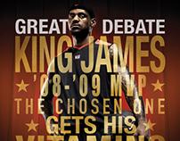 The Great Debate / Lebron vs. Kobe