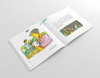 Topeng Malangan Illustration Children Book