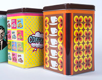 Coffee Canisters Eduscho