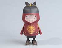[ Korea King's Cloth ] Paper toy of Boogiehood