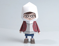 [ Dandy ] Paper toy of Boogiehood
