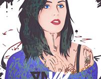 Katy Perry Artwork