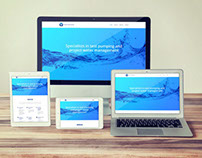 Resource Water Group - One-Page, Responsive Website