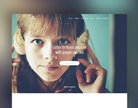 Soundrop Current Landing Page