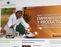 Hogar Siembra Website