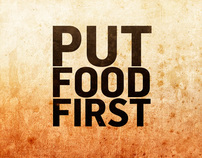 "The World Bank ""Put Food First"""
