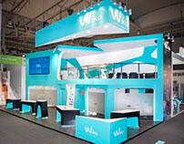 Booth design | Wikomobile | Mobile World Congress 2014