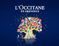 L'Occitane pop-up store