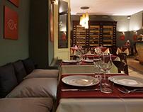 ARIA Bistrot Restaurant interior