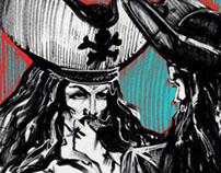 Сomics.  Pirates of the Caribbean
