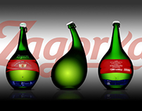 Zagorka Beer bottle concepts