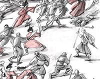 """Учебный проект """"100 самураев"""""""