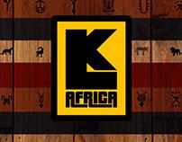 'LK AFRICA' Brand identity