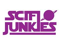 SCI-FI Junkies Logo Design