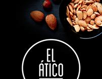 Diseño Impreso: Cartel El Ático Gourmet