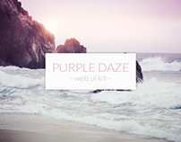 Purple Daze Web UI Kit